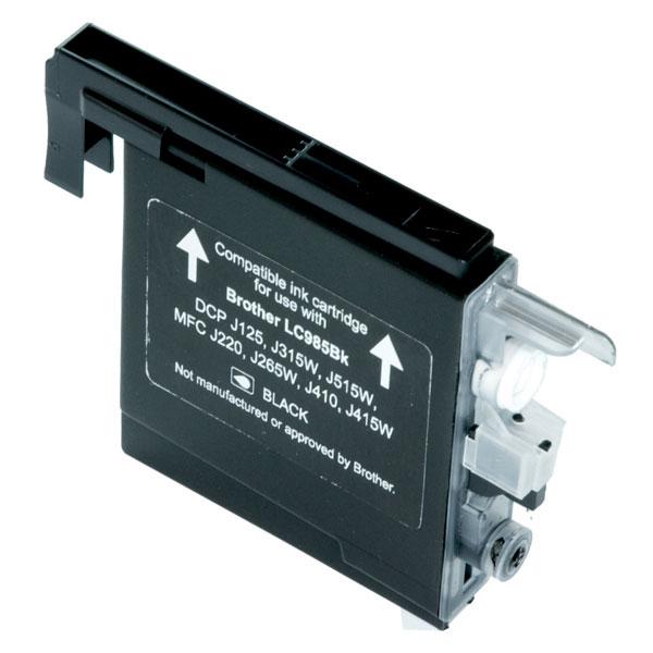 FAIRPRINT Tinte für Brother ersetzt: LC985BK Typ: DCP-J 315