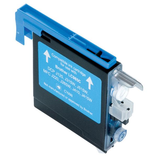 FAIRPRINT Tinte für Brother ersetzt: LC985C Typ: DCP-J 315